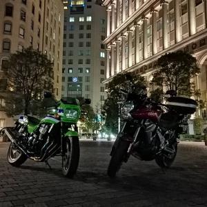 バイクで日帰りツー🏍江の島/横浜赤レンガ街/汐留イタリア街