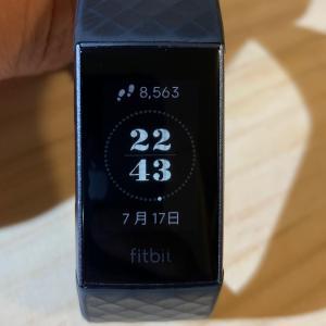 fitbit charge 3 のおすすめディスプレイ表示はこの3つ