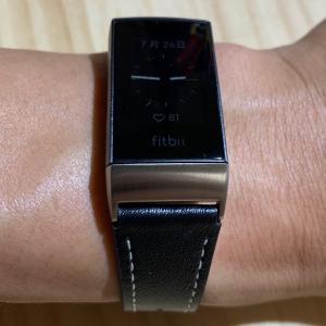 【購入レポ】fitbit charge 3 をレザーバンドに交換してフォーマルな雰囲気に!