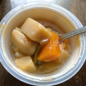 モンマルシェの野菜をMOTTOスープを食べ比べてみた!野菜ゴロゴロ!