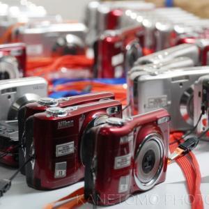 修学旅行用カメラの準備