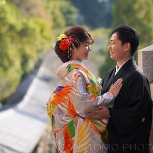 吉備津神社神前結婚式 前撮り