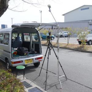岡山大学で集合写真撮影(2日目)