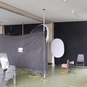 個人撮影の準備とセット