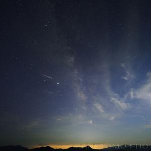 夜間撮影「暗い夜空を求めて」