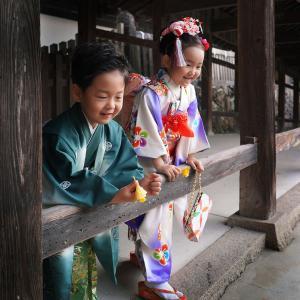 七五三のロケーション撮影 吉備津神社