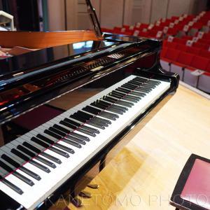 ピアノ発表会の撮影に行く