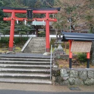陰陽石への祈り…月読神社