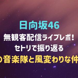【日向坂46】無観客配信ライブレポ!セトリで振り返る「22⼈の⾳楽隊と⾵変わりな仲間たち」の感想