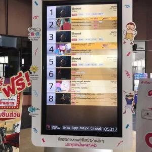 パタヤの昼の時間稼ぎ アベニューの映画館 価格も120THBと低コスト
