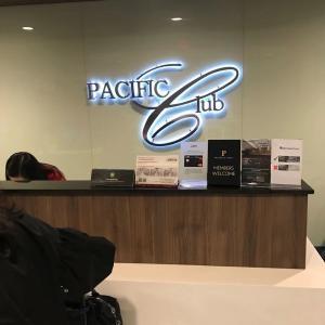 マニラ空港(ニノイアキノ)のラウンジ PACIFIC CLUB(プライオリティパスで使用可)