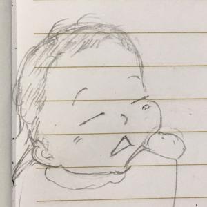 生後2か月で、だんだんと赤ちゃんの性格が分かってきました✨