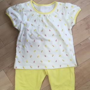赤ちゃんの夏パジャマ。買って良かった!ユニクロのドライパジャマ🩳🎐