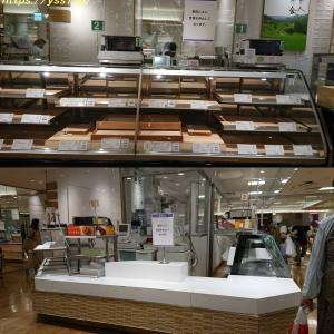 神戸阪急の地下店舗がたくさん閉まっていた