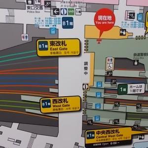 新宿駅東西自由通路供用開始&ゴロッとイチゴフラペチーノ