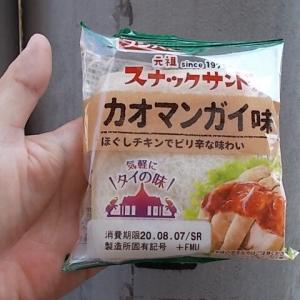 フジパン・スナックサンドのガパオ味&カオマンガイ味