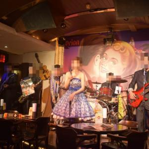 <沖縄・那覇>ゴールドディスク沖縄で、迫力あるロック・ロカビリーのライブを楽しんできました