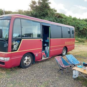泊まれるバス「BUSHOUSE」に子どもと泊まってきた日のお話