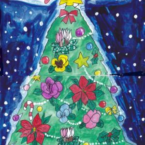 今日はクリスマスツリーの日 ~クリスマスツリーイラスト~
