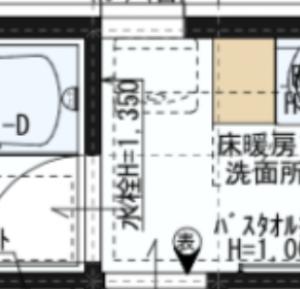 一条工務店の間取り〜feat.洗面脱衣室〜