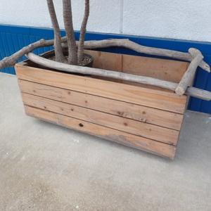鉢植えのボックス上塗り