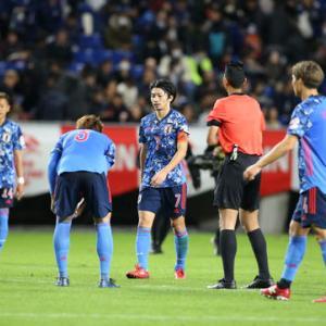 ボロが出始めた日本代表