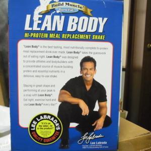 Lean Body 旧パッケージ時代のリー・ラブラダ