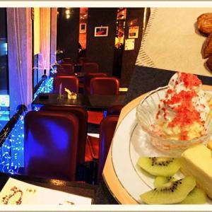 川越 『カフェdeスカイ』夜景が綺麗なカフェで幻のアーモンド!?