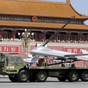 新型ICBM登場か=戦闘機が低空飛行―軍事パレード、2回目予行演習・中国