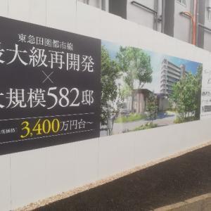 パークビレッジ南町田 建設中 広告 20201027