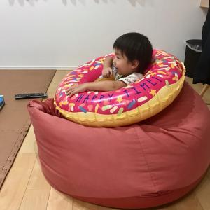 2歳児の避難準備