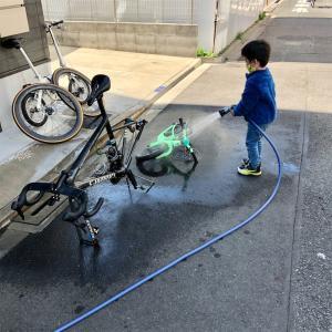 皇居朝練、Tarmac SL6 洗車
