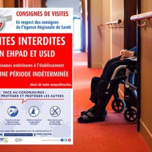 [新型コロナウイルス]フランス老人ホームの現状(4月2日)