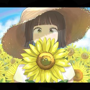 お題 「夏休み」 イラスト