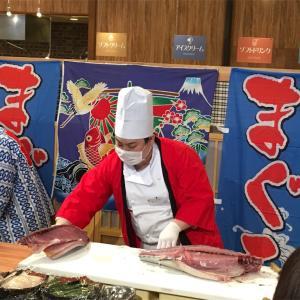 海鮮充実!の夕食ブッフェ@湯快リゾートあわら温泉青雲閣