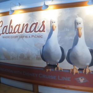 オールデイダイニング:Cabanas@ディズニークルーズ2017