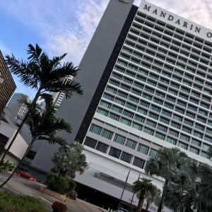 マリーナベイビュールーム@マンダリンオリエンタルホテルシンガポール Mandarin Oriental Singapore