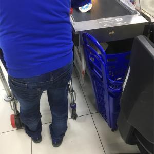 フランス。スーパーでの買い物の仕方