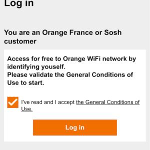 Orange Holiday Europe(オランジュ・ホリデー)Wi-Fiの使い方