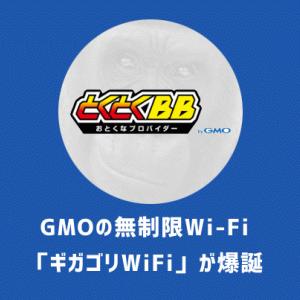 ギガゴリWiFi(GMO)を徹底レビュー|他社比較とデメリットと速度を検証しています