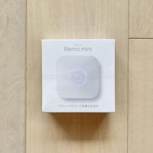 【画像つき】Nature Remo mini(Remo-2W1)の初期設定方法と基本的な使い方