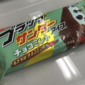 ブラックサンダーアイス チョコミント