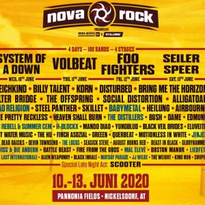 BABYMETAL『Nova Rock Festival』に出演決定!オーストリア・ニッケルスドルフの大型フェスに参加するぞ!