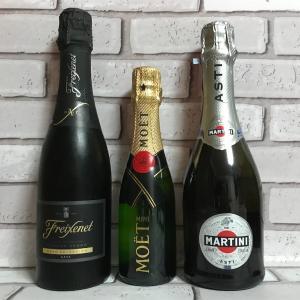シャンパンには種類があるのは知ってる?三大スパークリングワインを紹介