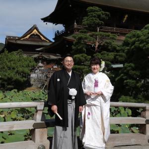 台風被災後 初めての結婚式に思う【長野】