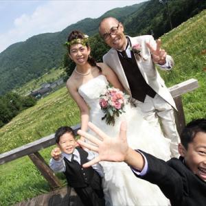 お子様と一緒に【写真だけの結婚式】