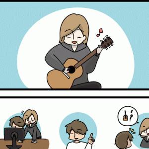ギターの音入れをさせて頂きました!!