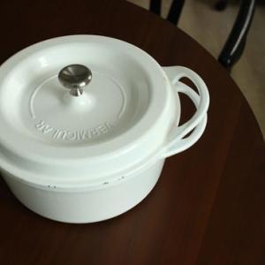 重さに負けて買い替えた無水鍋