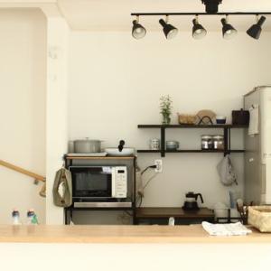 キッチン収納 軽くなって、鍋を移動できた
