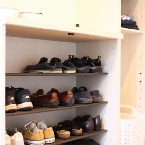 靴棚を簡単カスタマイズ